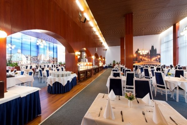 Restaurant+Prague-Vienna - Spa+Hotel+Grand+Splendid - hotel P%C3%B6sty%C3%A9n