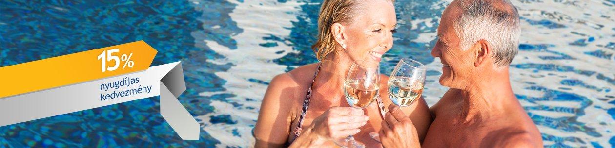 Nyugdíjas kedvezmények a Danubius Health Spa Resort Hévíz szállodában