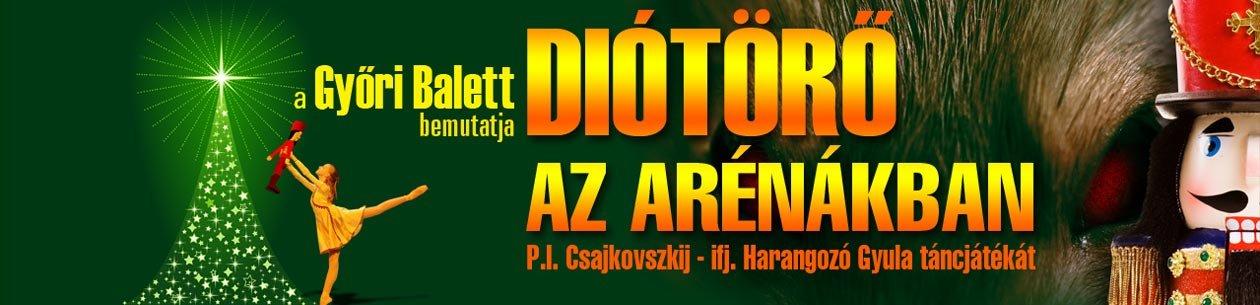 A Diótörő Győrben - Foglaljon jegyet és szállást egyben
